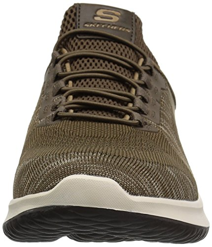 Fit Men's M Delson US Skechers Sneaker 8 Relaxed USA Brewton 5 Brown Men's wTFxqZxI