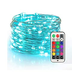 Create visual feast for eyes with those wonderful color changing fairy lights, they are low voltage lighting and safe to use.What Has Been Upgraded USB powered VS regular string lights, no need to change batteries frequentlySturdier,easy to g...
