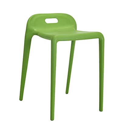 HCJSFD JCRNJSB Creative Fashion Modern Dining Chair Simple Plastic Chairs  Reception Chairs Household Stool Restaurant Lounge