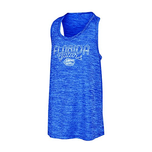 - Champion NCAA Florida Gators Girls Tank Top with Scoop Neck and Racer Back, Large, Blue
