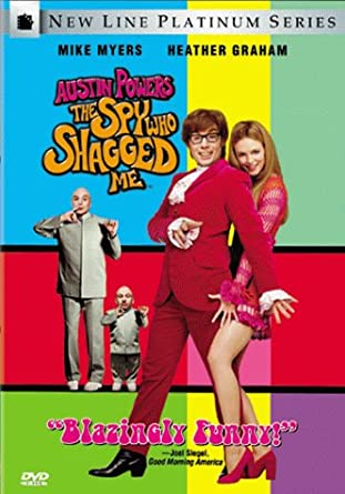 Austin Powers The Spy Who Shagged Movie Poster Card MP-3
