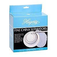 Hagerty Fine China Plate Dividers, juego de 48, azul