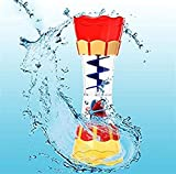Yingealy Unique Gift 1 pc Water Leakage Rotation Water Cup Kaleidoscope for Children Bath Bathroom Toys