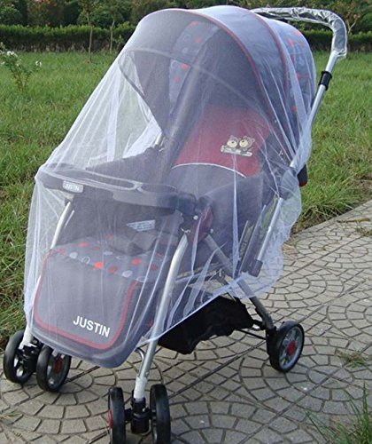 Strollers, Pram & Pushchair Universal Insect Net/Mosquito Net White (White) MTSZZF