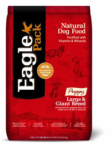 Cheap Eagle Pack Natural Pet Food, Large And Giant Breed Puppy Formula, 30-Pound Bag