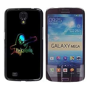 Be Good Phone Accessory // Dura Cáscara cubierta Protectora Caso Carcasa Funda de Protección para Samsung Galaxy Mega 6.3 I9200 SGH-i527 // Brick Bazooka