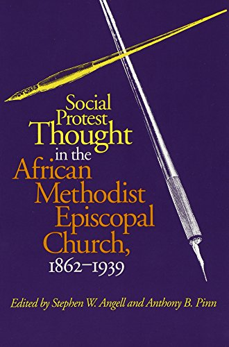 Social Thought African Methodist Church: 1863-1939