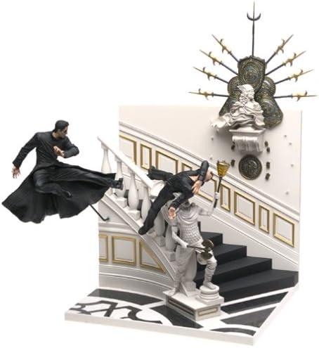 The Matrix Reloaded Trinity Falls Figurine Série 2 AC MacFarlane