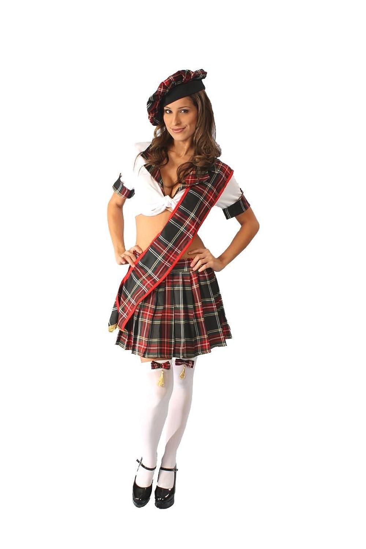 Alexanders Costumes Women's Scottish Lassie
