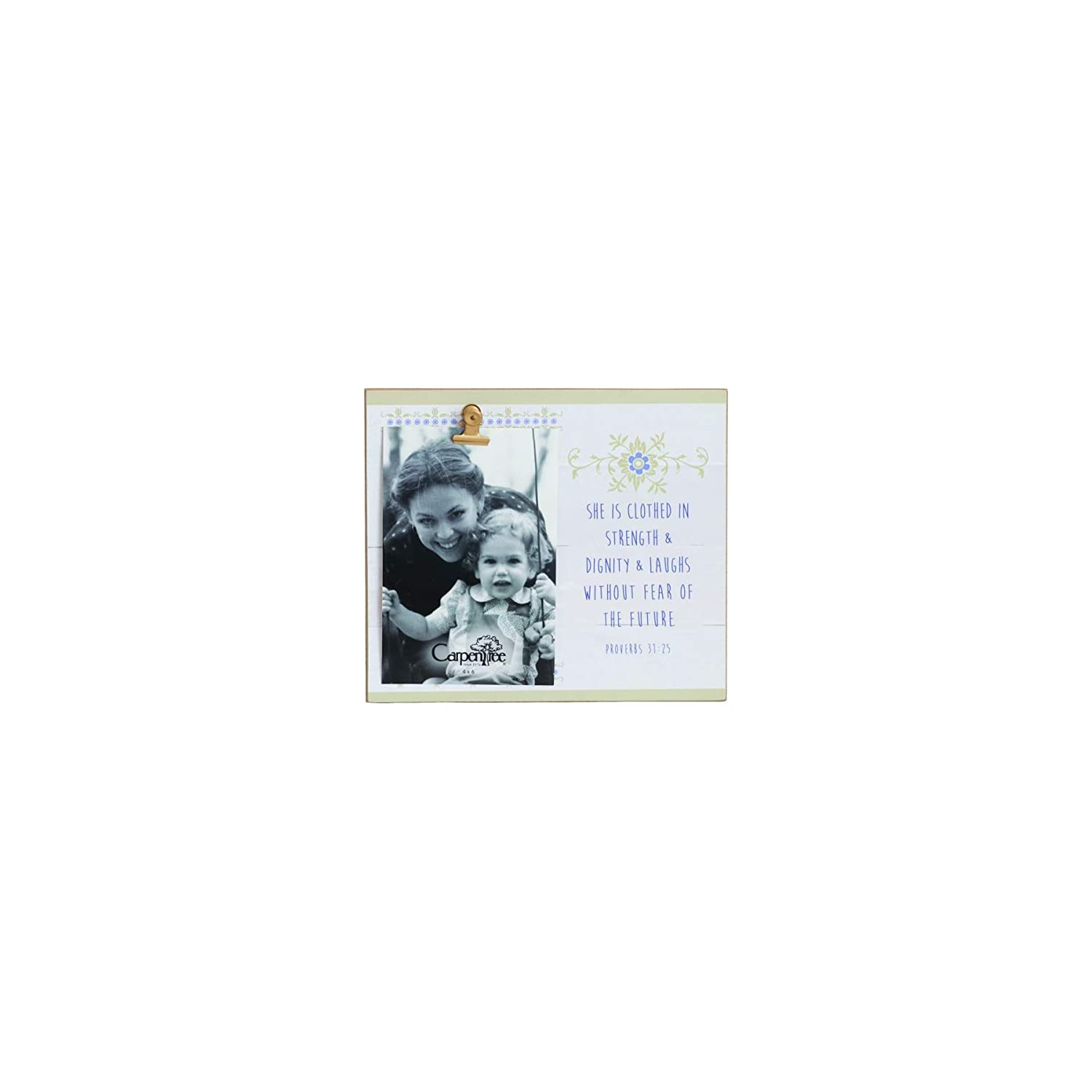 Carpentree Strength and Dignity Photo Frame, Multi