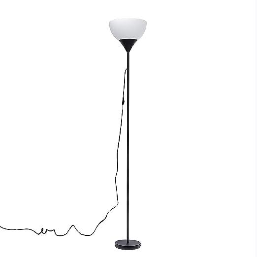 Lámpara de suelo a LED, moderna lámpara de pie con pantalla de ...