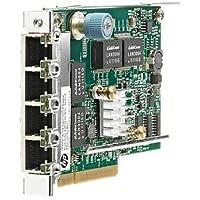 HP 629135-B21 Ethernet 1Gb 4-port 331FLR Adapter - PCI Express x4 - 4 Port(s) - 4 x Network (RJ-45) - Twisted Pair (HP629135-B21 )
