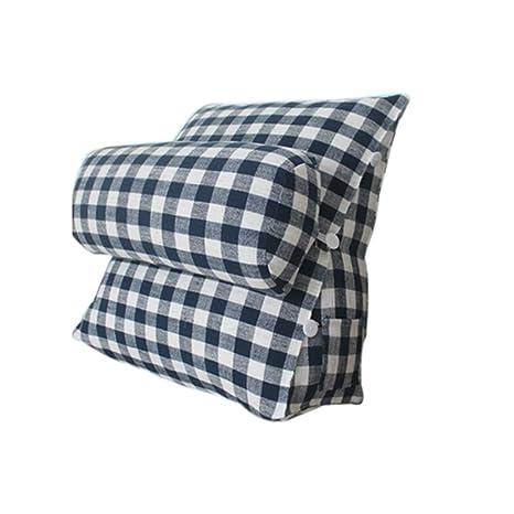 Cushion Almohada cojin Almohada Almohada Azul triángulo ...
