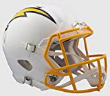 SAN DIEGO CHARGERS NFL Riddell Revolution SPEED Football Helmet COLOR RUSH