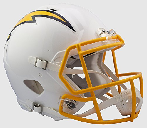 SAN DIEGO CHARGERS NFL Riddell Revolution SPEED Football Helmet COLOR RUSH by Riddell