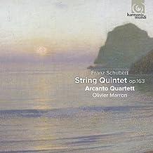 SCHUBERT. String Quintet Op.163. Arcanto Quartet/Marron