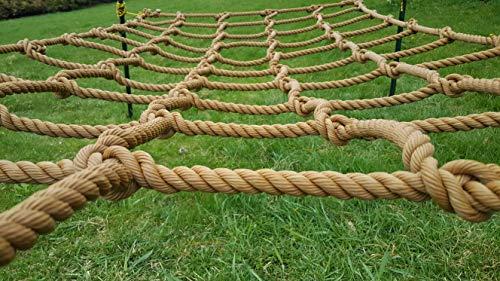 Natural Light co Climbing Net Cargo Net Made from Heavy Duty 3/4