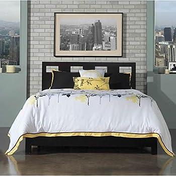 Modus Furniture RV23D7 Riva Platform Storage Bed, King, Espresso