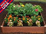 Greenland Square Foot Garden, Raised Bed Garden by Review