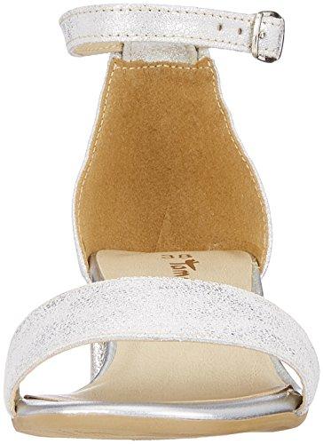 Femme 28394 Bride Sandales Silver Argent Cheville Metall Champagne Tamaris Metallic xw6IqEw