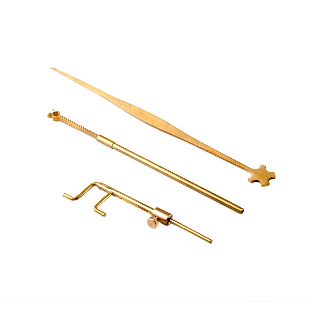 Chienti Brass Violin Luthier Tools Sound Post Gauge Measurer Retriever Clip Set Violin Parts /& Accessories