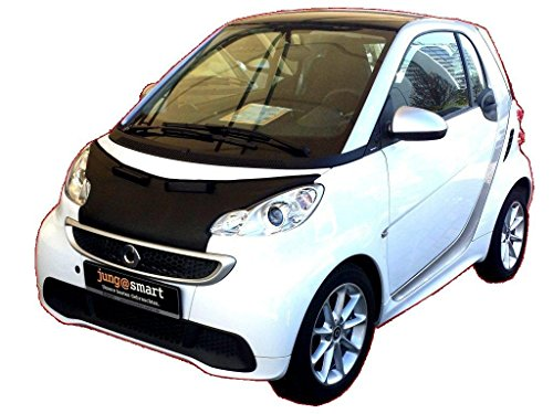 HOOD BRA Front End Nose Mask for Smart Fortwo W451 2007-2014 Bonnet Bra STONEGUARD PROTECTOR TUNING