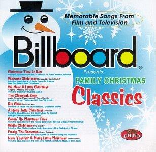 Billboard Family Christmas Classics (Various Christmas Classics Comedy Artists)
