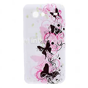 Butterfly Style Soft Case for Samsung Galaxy S Advance I9070