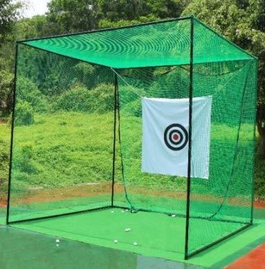 ゴルフネット 練習用 野球練習ネットスポーツネットテニス練習用ネット 折畳み ゴルフ練習ネット ゴルフ ネット 大型 長さ3m×幅3m×高さ3m
