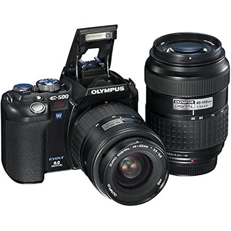 Amazon.com: Olympus Evolt E500 8 MP Digital SLR (Modelo ...