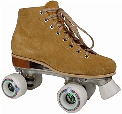 Amazon Com Oberhamer 210c Suede Vintage Roller Skates Size 9 Outdoor Roller Skates Sports Outdoors