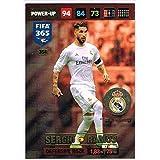 Panini FIFA 365 Adrenalyn XL 2017 Sergio Ramos Defensive Rock Trading Card
