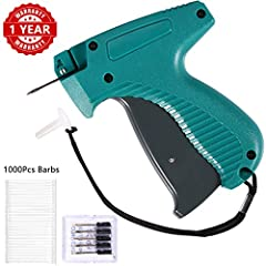 BS ONE Standard Tag Gun★Whether you are a retailer, merchant and online seller or you are often involved in a consignment sale, you need to price something. A tagging gun with good quality should be your best choice. Our BS ONE Clothes Taggin...