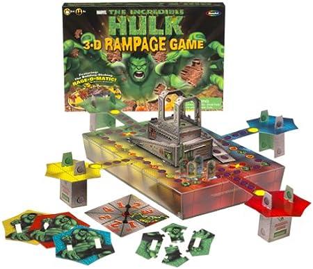 The Incredible Hulk 3.D Rampage Game: Amazon.es: Juguetes y juegos