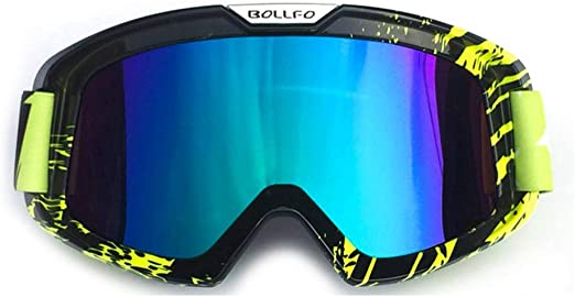 Skiing Motorbike Goggle Glasses with Ergonomic Design for Cycling Motorcycles Snowmobiles CS Motocross Motorcycle Goggles Riding Air Rifles