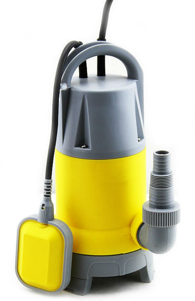 Submersible Sump Pump 1.5HP 3700GPH w/25ft Cord Water Sub Pump Empty Pool Pond