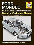 Ford Mondeo 07-12 Service and Repair Manual (Haynes Service and Repair Manuals)