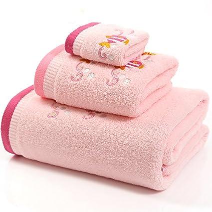 amazon com answet child s bath towels kids likes soft cotton bath