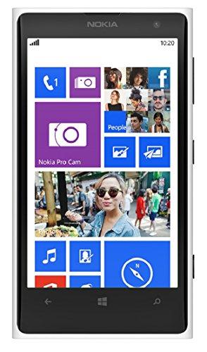 Nokia Lumia 1020 RM-877 32GB Unlocked GSM Phone w/ 41MP Camera - White (International Version) (Nokia 1020 Unlocked International)