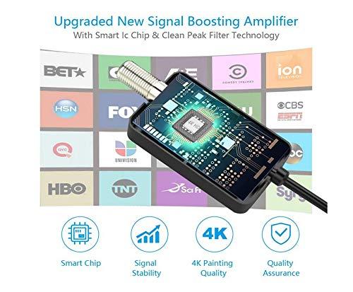 Port/átil HDTV Digital con Amplificador Antena TV Interior