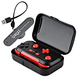 Zerone PG-9085 Wireless Bluetooth Gamepad, Portable Bluetooth Gaming Controller for Nintendo Switch Android/iOS Phone Windows PC with Storage Case