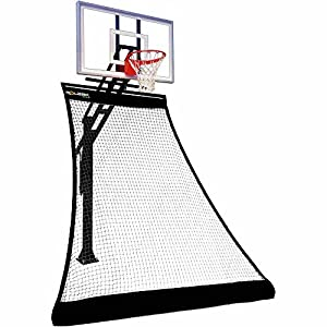 Rolbak Gold Foldable Basketball Return Net with 1 Refillable Water Tube, Webbing Harness and Nylon Brackets