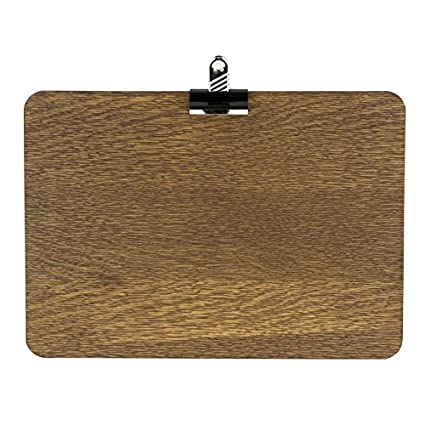 Pizarras UK Clipboard, Madera, Roble Oscuro, Madera, Roble Oscuro, A3 (49.6 x 33 x 0.80cm)