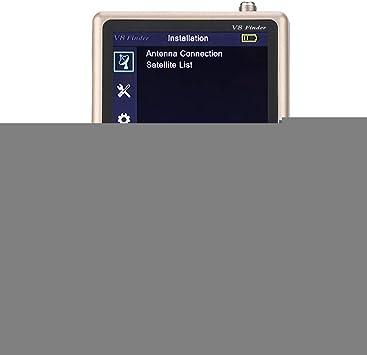 Bewinner Mini buscador de satélites, LCD de 3.5 Pulgadas HD ...
