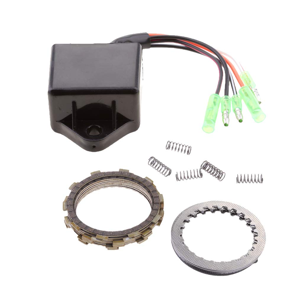 Sharplace Kit de Embrague con Resortes + Encendido Cdi para 200 1988-2006 Arranque Piezas: Amazon.es: Coche y moto