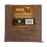 """Mother Earth Coco Covers 100% Natural Coconut Coir Fibers 6"""", 10 Piece"""