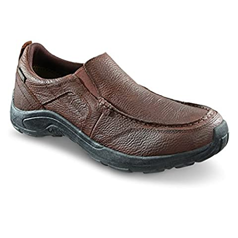 Guide Gear Men's Premium Waterproof Slip On Shoes, Canyon Brown, 12D - Canyon Guide