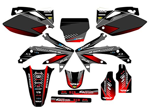 06 crf 450 plastic kit - 4