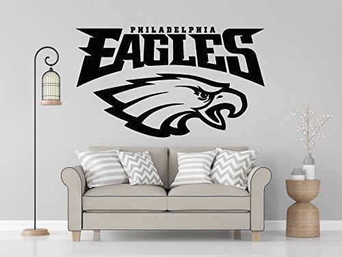 NFL logo decal, Eagles NFL decal, Eagles stickers, Philadelphia Eagles large decal, Eagles decal, Eagles sticker, Eagles wall decal, Philadelphia Eagles logo decal, Eagles decor pf78 (13