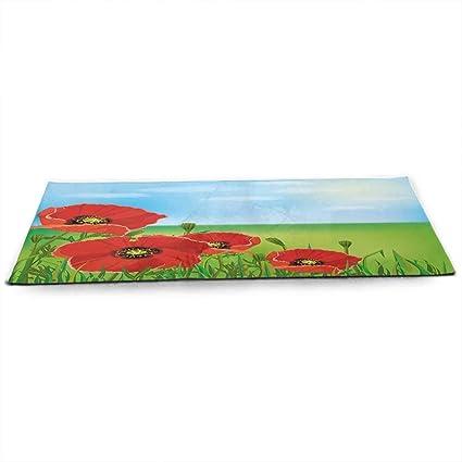 Amazon.com : Poppy Eco Friendly Yoga Mat Sunny Day is Upon ...